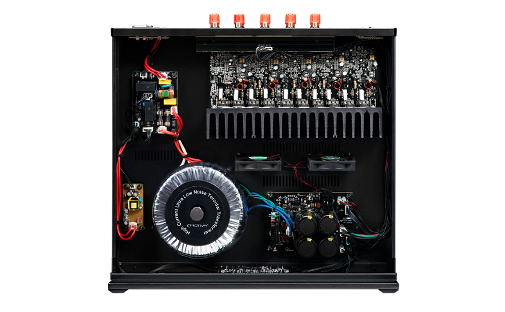 Power ampli Emotiva BasX A-500 tot